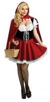 Red Little YYJ Женский Красная Шапочка косплей костюм, платье, танцы