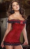 Nyi Женская Большой Двор Сексуальная Спящая платье